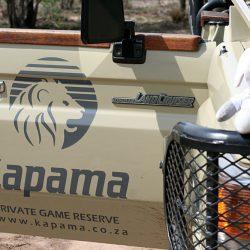 Kirsty Perring - Kapama Private Game Reserve - Goway Mascot Thandi at Kapama, South Africa