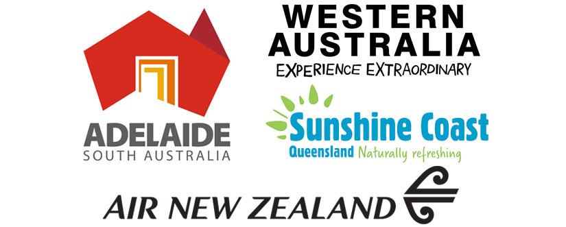 Go Beyond the Ordinary Australia Tourism Logos