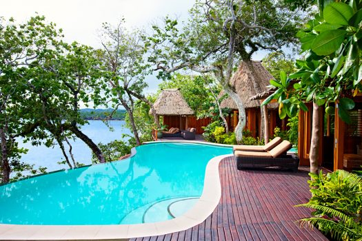 Private pool at Namale Resort & Spa, Fiji