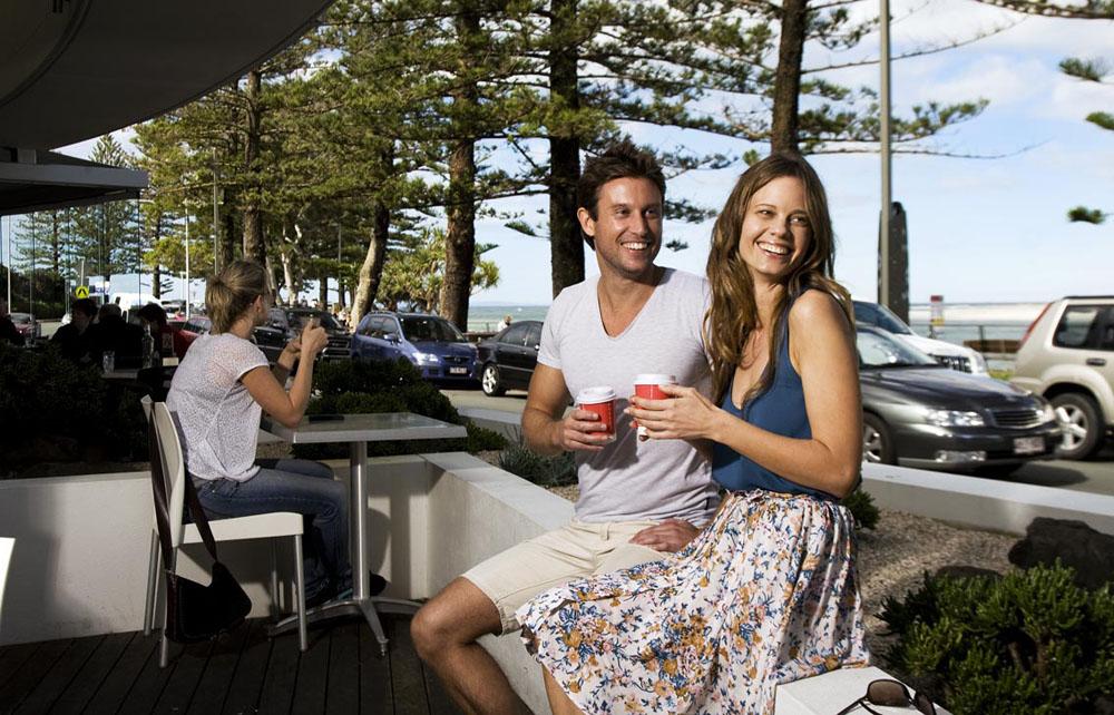 Coffee on the Esplanade in Noosa on the Sunshine Coast