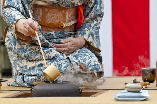 Enjoy a traditional Japanese tea ceremony