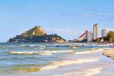 Khao Takiab (Chopstick Hill) in Hua Hin Beach, Thailand