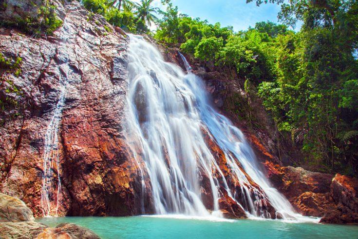 Na Muang Waterfalls, Koh Samui, Thailand