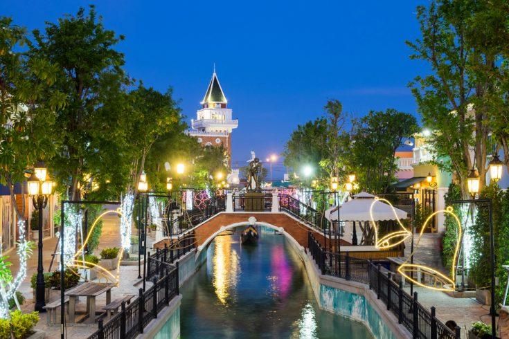 The Venezia at Night, Hua Hin, Thailand