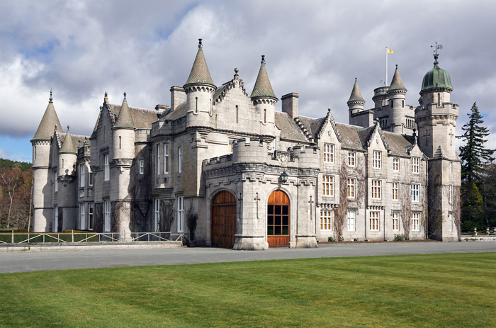 Balmoral Castle, Royal Deeside, Scotland