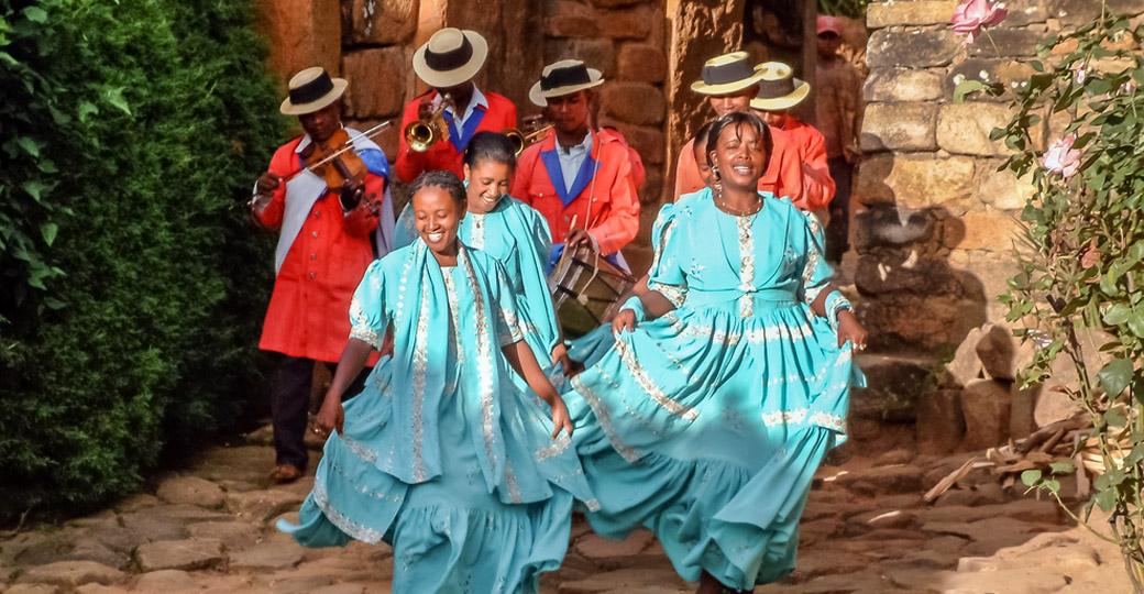 Madagascar - Antananarivo song and dance