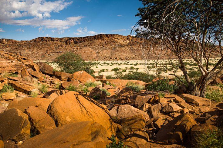 Twyfelfontein Rock Art in Damaraland, Namibia