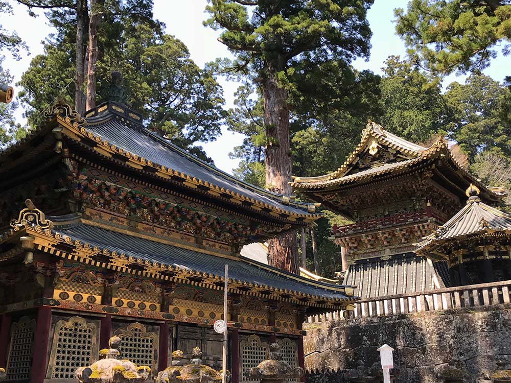 Toshogu Shrine - One of Japan's most lavishly decorated temples