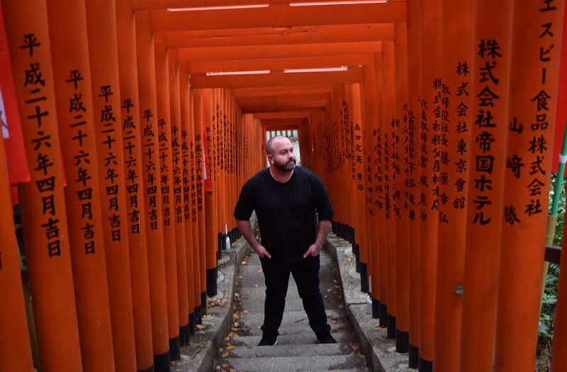 Steve Perkins in Japan